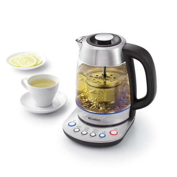 Programmable electric kettle